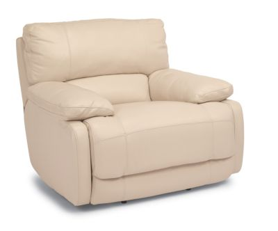 Flexsteel Hermosa Leather Power Recliner
