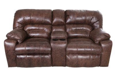 Franklin Dakota Reclining Loveseat with Console