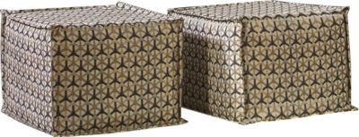 Fairmont Designs Phoenix Pair Of Cube Ottomans