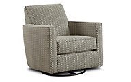 Fusion Hopkins Pewter Swivel Glider