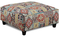 Fusion 1810 Collection Cocktail Ottoman