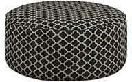 Fusion 2790 Collection Round Cocktail Ottoman