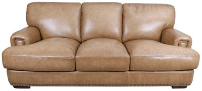 Futura 10047 Collection 100% Leather Sofa