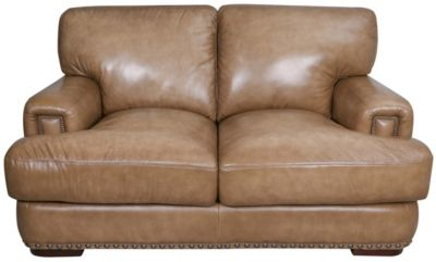 Futura 10047 Collection 100% Leather Loveseat