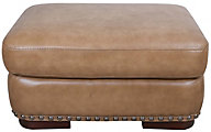 Futura 10047 Collection 100% Leather Ottoman