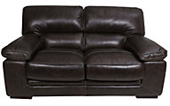 Futura 10105 Collection 100% Leather Loveseat
