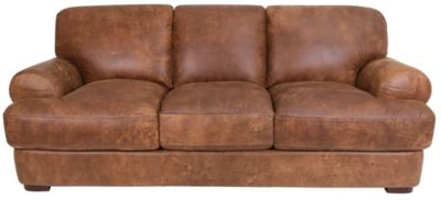 Futura 10106 Collection 100% Leather Sofa