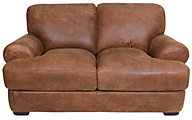 Futura 10106 Collection 100% Leather Loveseat