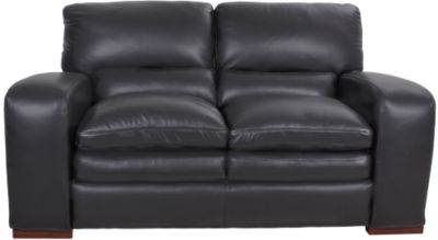 Futura 7221 Collection 100% Leather Loveseat