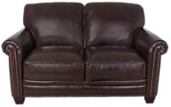 Futura 7888 Collection 100% Leather Loveseat