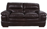 Futura 8316 Collection 100% Leather Loveseat