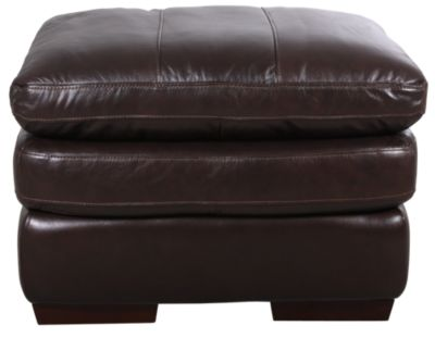 Futura 8316 Collection 100% Leather Ottoman