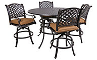 Gather Craft Castle Rock 5-Piece Counter Outdoor Dining Set