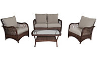Gather Craft Valero 4-Piece Patio Set