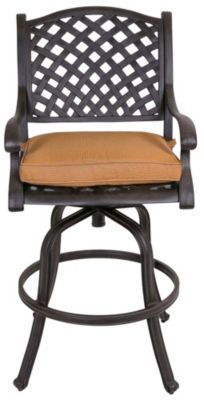 Gather Craft Castle Rock Outdoor Swivel Bar Stool