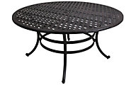 Gather Craft Castle Rock Round Outdoor Dining Table