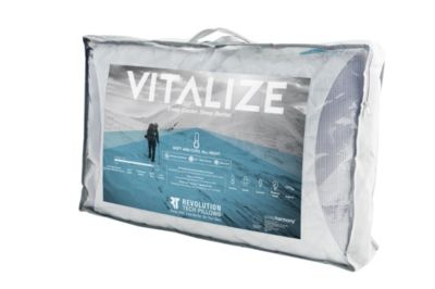 Glideaway Vitalize Shredded Gel Memory Foam Queen Pillow
