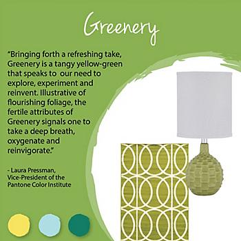 Pantone Color Series: Greenery