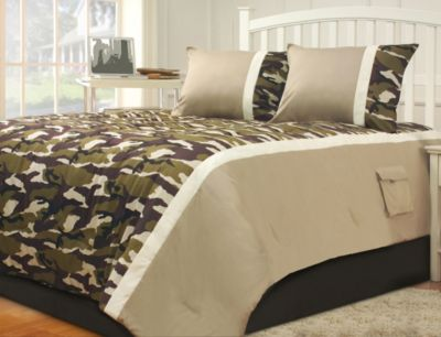 Hallmart Camp Dynasty 3-Piece Full Comforter Set