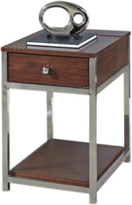 Hammary Furniture Xpress Charging Chairside Table