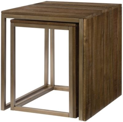 Hammary Furniture Flashback Nesting End Tables