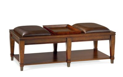 Hammary Furniture Sunset Valley Bench Coffee Table