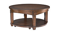 Hammary Furniture Tacoma Round Coffee Table