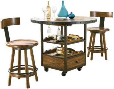 Hammary Furniture Americana Home Counter Table & Stools