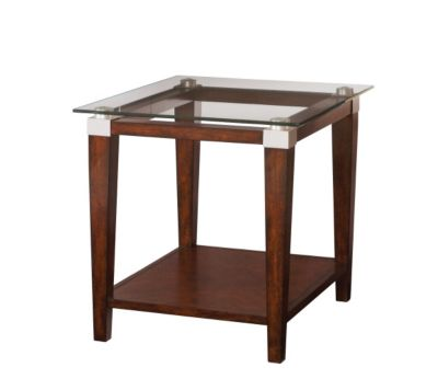 Hammary Furniture Solitaire End Table