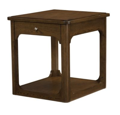 Hammary Furniture Facet End Table