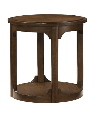 Hammary Furniture Facet Round End Table