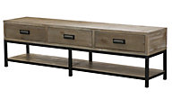 Hammary Furniture Parsons Bench Coffee Table