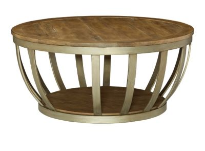 Hammary Furniture Modern Theory Round Coffee Table