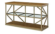Hammary Furniture Modern Theory Sofa Table
