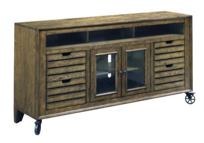 Hammary Furniture Elm Ridge 66-Inch Entertainment Console