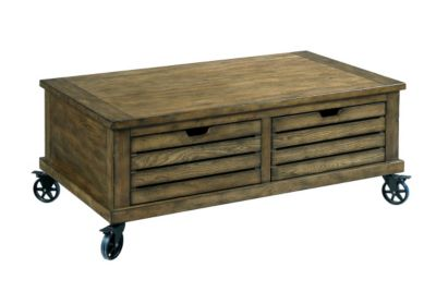 Hammary Furniture Elm Ridge Storage Coffee Table
