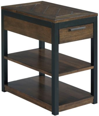 Hammary Furniture Franklin Charging Chairside Table