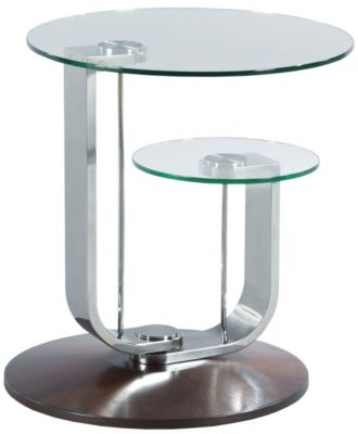 Hammary Furniture Pivot Round End Table