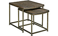 Hammary Furniture Leone Nesting End Tables