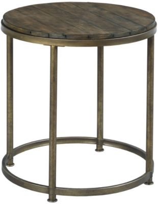 Hammary Furniture Leone Round End Table