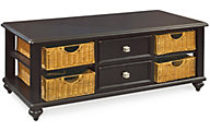 Hammary Furniture Camden Black Coffee Table