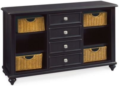 Hammary Furniture Camden Black Console Table