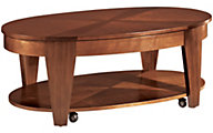 Hammary Furniture Oasis Oval Lift-Top Coffee Table