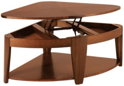 Hammary Furniture Oasis Wedge Lift-Top Coffee Table