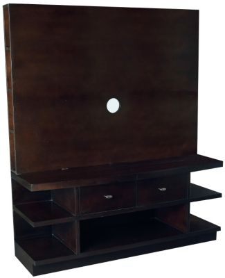 Hammary Furniture Urbana 56-Inch Entertainment Console
