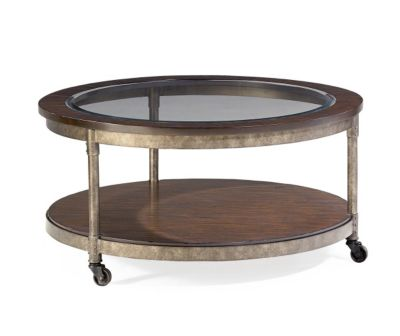 Hammary Furniture Structure Round Coffee Table