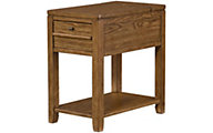 Hammary Furniture Chairsides Collection Oak Chairside Table