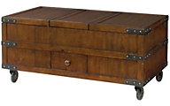 Hammary Furniture Hidden Treasures Lift-Top Trunk Coffee Table