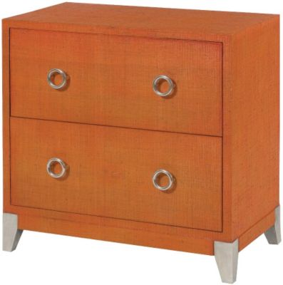 Hammary Furniture Hidden Treasures Orange Accent Chest