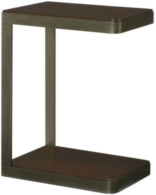 Hammary Furniture Hidden Treasures Espresso Chairside Table
